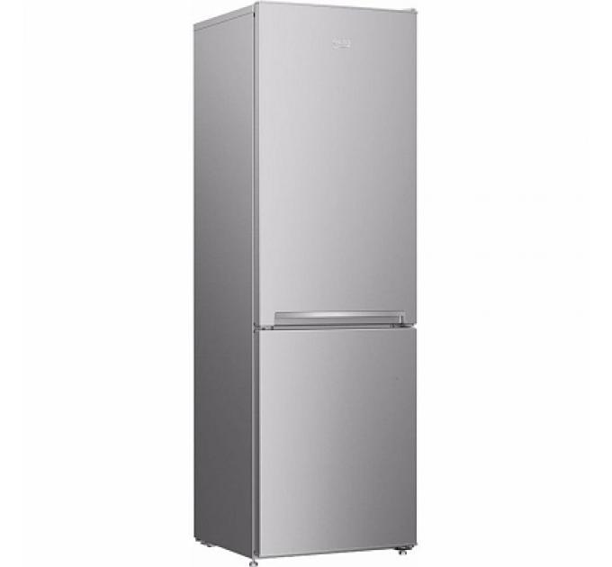 Холодильник BEKO RCSK 339M20 S, серебристый