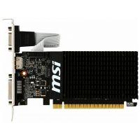 Видеокарта PCI-E MSI GeForceGT 710 GT 710 2GD3H LP 2GB Silent Low Profile GDDR3 64bit 28nm 954/1600MHz DVI(HDCP)/HDMI/VGA RTL