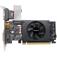 Видеокарта PCI-E GIGABYTE GeForce GT 710 GV-N710D5-2GIL 2GB GDDR5 64bit 28nm 954/5010MHz DVI-D/HDMI/D-Sub