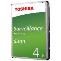 "Жесткий диск 4TB SATA 6Gb/s Toshiba HDWT740UZSVA Surveillance S300 3.5"" 5400rpm 128MB"