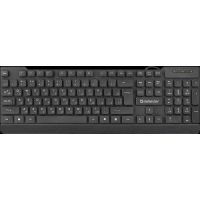 Клавиатура Defender ELEMENT HB-190 RU 45191 black