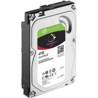 "Жесткий диск 4TB SATA 6Gb/s Seagate ST4000VN008 3.5"" IronWolf 5900rpm 64MB Bulk"