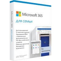 ПО Microsoft 365 Family Russian Sub 1YR Russia Only Medialess P6