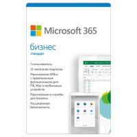 Подписка (электронный ключ) Microsoft 365 Бизнес Стандарт (включая Microsoft Office) Retail All Languages 1 год