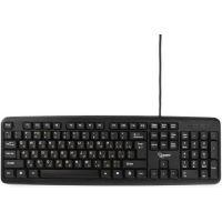 Клавиатура Gembird KB-8320UXL-BL черная, USB., 104 клавиши, 2м