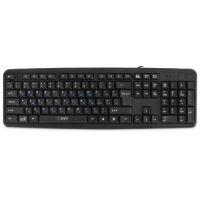 Клавиатура CBR KB 109 black, 104 клавиши, USB, 1,8м